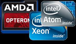 AMD Intel XEON CPU